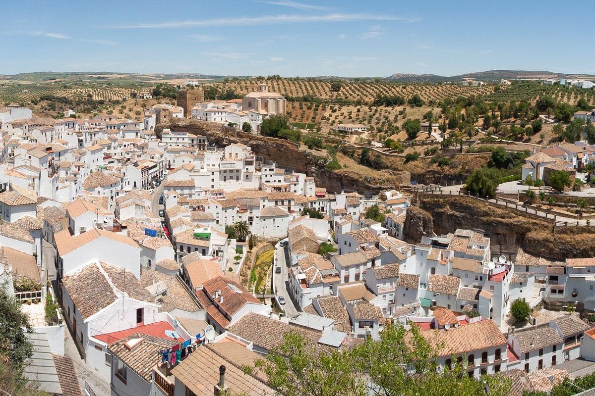 Bild eines Weingutes in Spanien