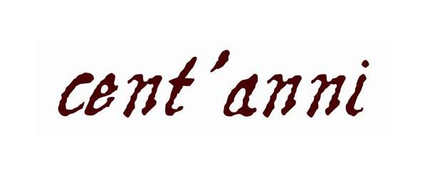 Logo cent anni