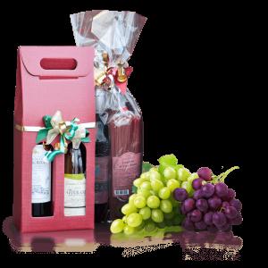 Weinstrecke Geschenk